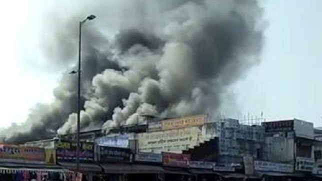 Bhopal: More than 100 shops gutted after massive fire breaks out in shopping complex