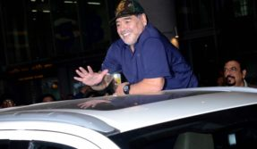 Kolkata: Diego Maradona is back in India after 9 years, will play against Sourav Ganguly