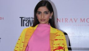 Mumbai: Actress Sonam Kapoor during a programme in Mumbai on Nov 22, 2017. (Photo: IANS)