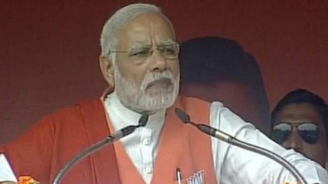 Congress at last stage of Blue Whale Challenge, result on December 18: PM Modi