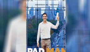Padman new poster: Akshay Kumar is a superhero on a mission