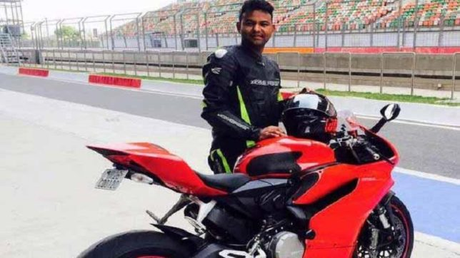 Jaipur: Rs 22 lakh rupee bike, Rs 50,000 helmet and biking gear of Rs 30,000 could not save Rohit's life in a fatal accident