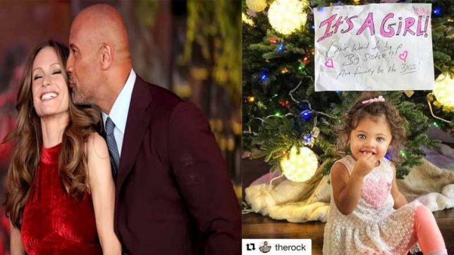 The Rock Dwayne Johnson expecting 'another girl' with girlfriend Lauren Hashian