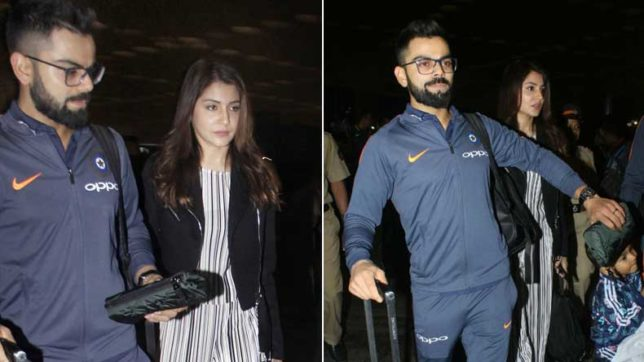 Virat & Anushka enroute to South Africa