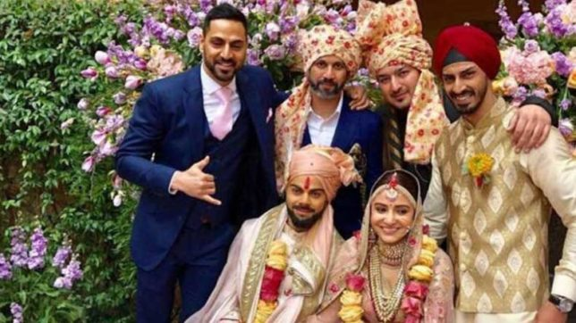 Gone viral! Anushka Sharma-Virat Kohli wedding reception invitation; check out the classy invite