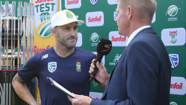 Faf: 'Our plan was to have a lead of 350'