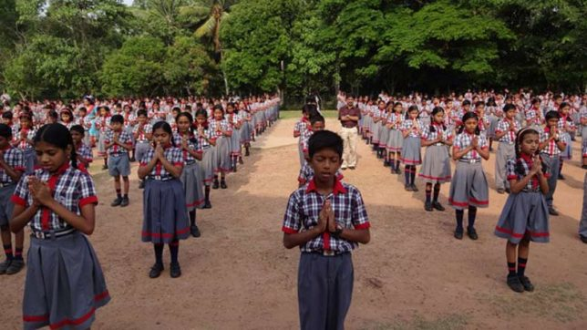 Let the supreme court decide that Kendriya Vidyalaya's Morning Prayer Promote Hinduism?