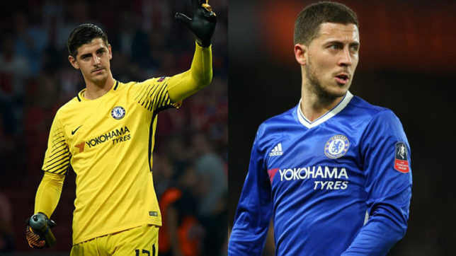 Eden Hazard, Thibaut Courtois will sign new deals at Stamford Bridge