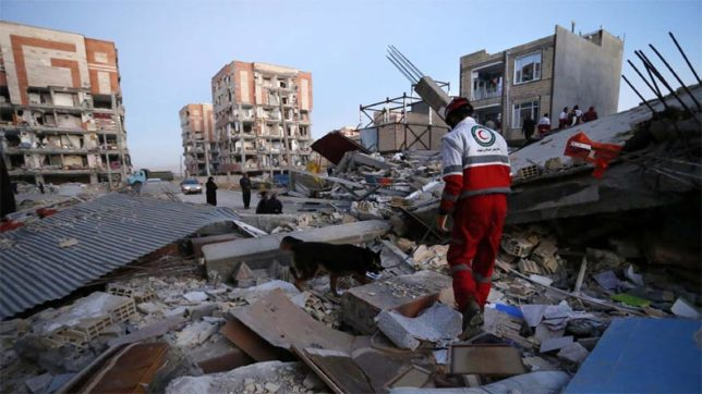 Eight hurt as earthquake hits western Iran