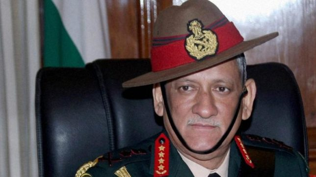 Indian Army Chief: 'We Have to Be Prepared' Amid Chinese 'Pressure'
