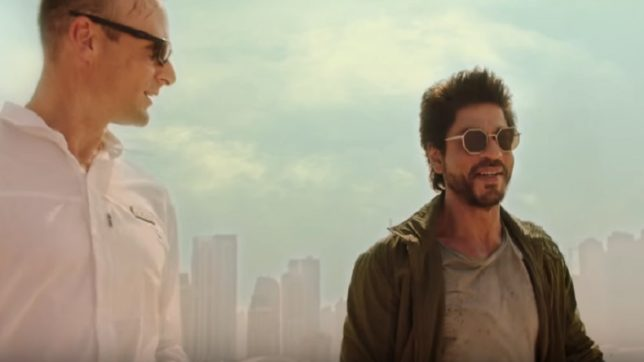 Shah Rukh Khan celebrates Makar Sankranti on 'Zero' sets