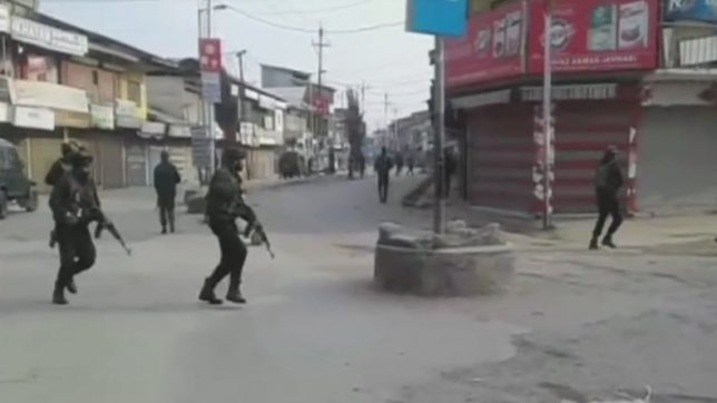 Four policemen killed in IED blast in north Kashmir's Sopore