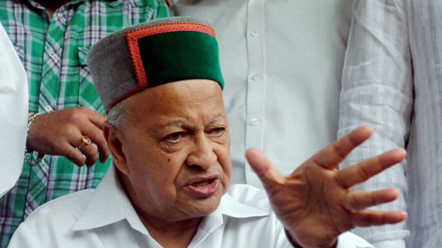 Virbhadra Singh accuses centre of destabilising Himachal government