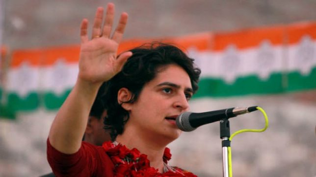 Priyanka Gandhi's office refutes reports of her appointment as Congress working president