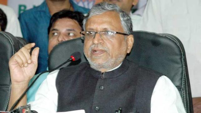 Grand Alliance died natural death, says Sushil Modi
