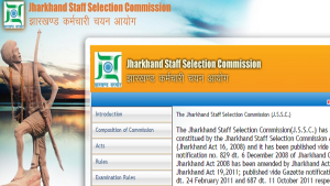 SSC Recruitment 2019, Jharkhand Staff Selection Commission jobs, jssc.nic.in, Jssc Constable jobs