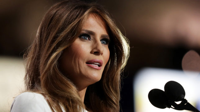 Era of brutality against women over: US First Lady Melania Trump