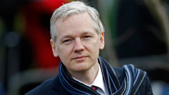WikiLeaks founder supports Twitter users' lawsuit against Trump
