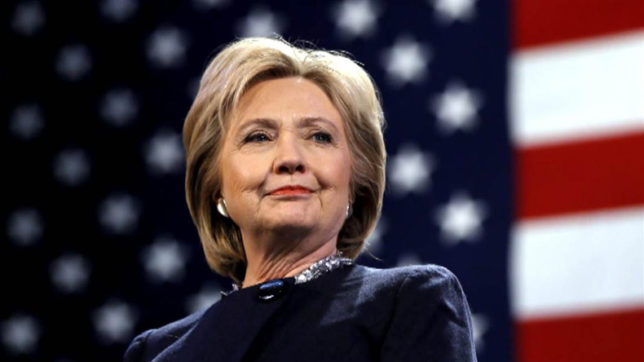 Former New York Senator Hillary Clinton gets standing ovation from Broadway audience