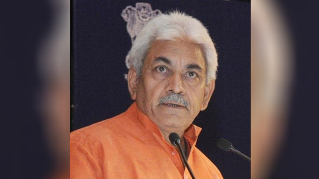Cancelling booking for Amit Shah's Kolkata event violation of democracy: Manoj Sinha