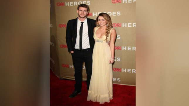 Singer Miley Cyrus and actor Liam Hemsworth feuding over prenup