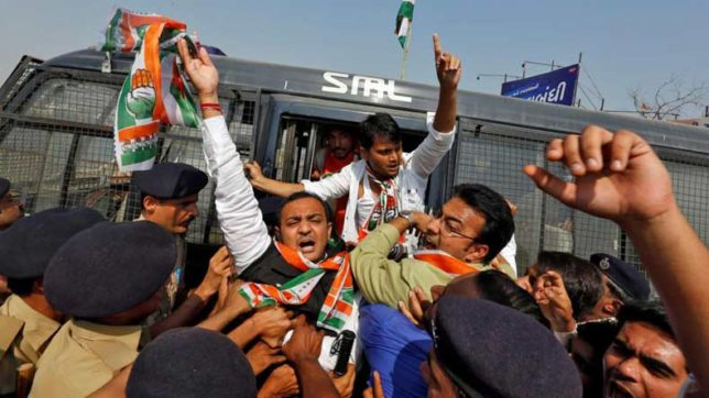 Congress-activists-detained-in-Tripura