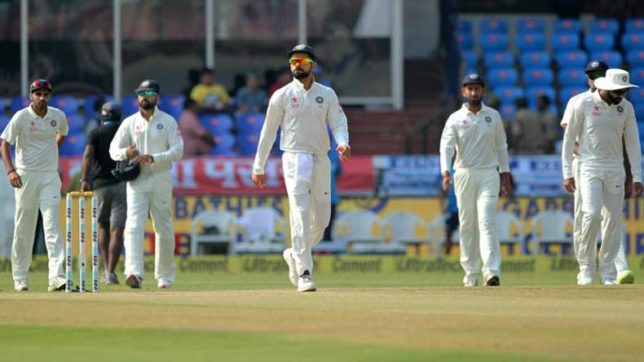 India-vs-Bangladesh,1st-Test-India-lead-by-300-runs-at-lunch-on-Day-4