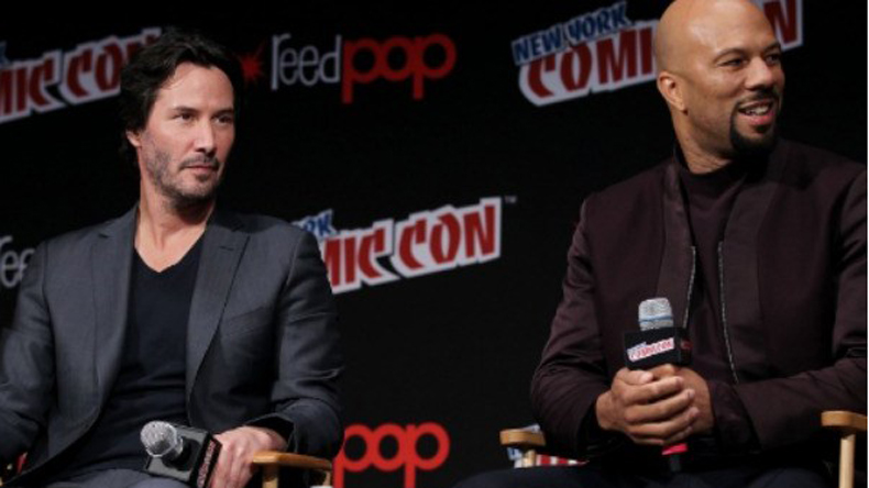 Keanu Reeves Commons Competition During John Wick Chapter 2 Newsx