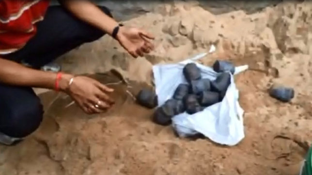 Police recovers 36 bombs from Harnampura village in Punjab