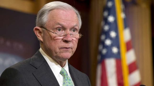 Sanctuary cities may lose federal subsidies: US Attorney General Jeff Sessions