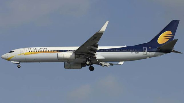 Jet Airways plane loses ATC contact over Germany, causes scare