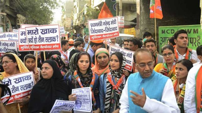 Muslim-women-like-BJP-for-its-'triple-talaq'-stand-Minister