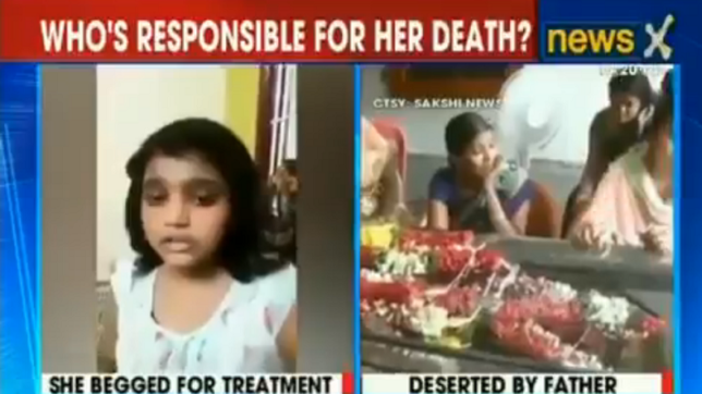 WATCH: 13-year-old begs dad for medical treatment; her last words will tear you apart