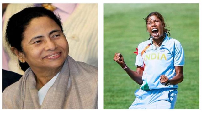 Bengal-CM-Mamata-hails-Jhulan-on-becoming-ODI's-highest-wicket-taker