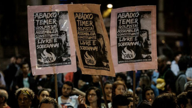 Brazilians urge President Temer to step down
