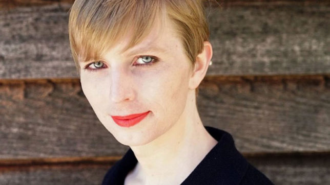 Chelsea Manning posts first image after release from prison