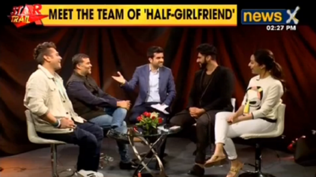 NewsX speaks to the team of Bollywood's upcoming film 'Half Girlfriend'