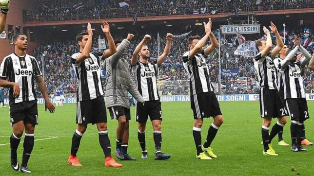 Serie a juventus crowned league champions for sixth