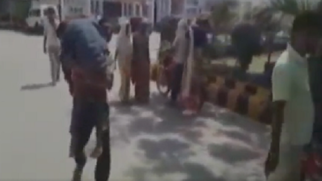 Denied ambulance, man carries son's body on shoulder in Etawah