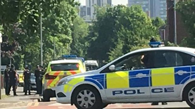 Bomb squad, police 'assessing situation' at Manchester college