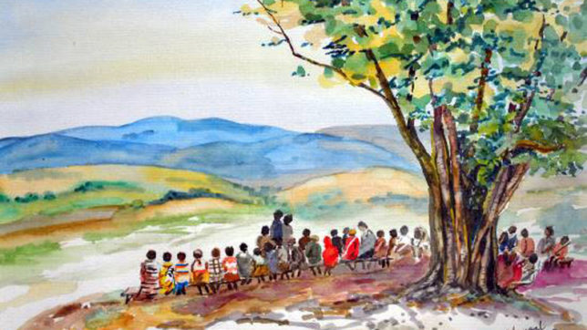 Retired Mumbai professor paints her way to good health