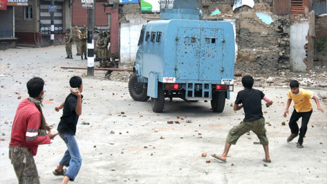 Youth held for stone pelting escapes from police custody