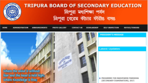 TBSE Class 12th Result 2019
