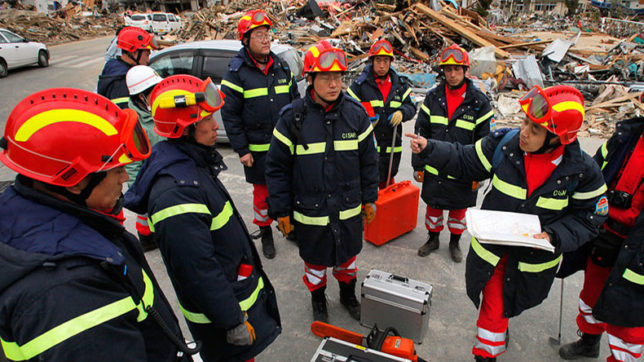 China launches emergency response to earthquake