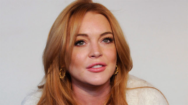 Lindsay Lohan says she found peace away from Hollywood