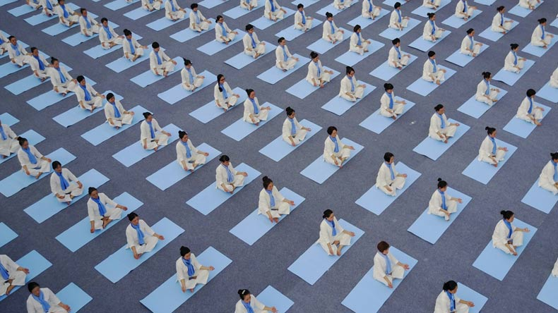 International Yoga Day China