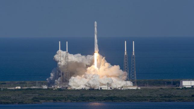 SpaceX successfully completes its third satellite launch in 12 days