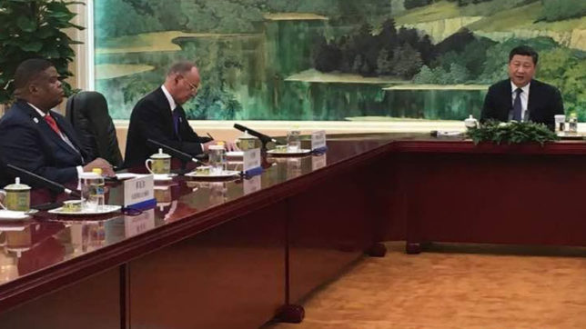 Indian NSA Ajit Doval calls on Chinese President Xi Jinping