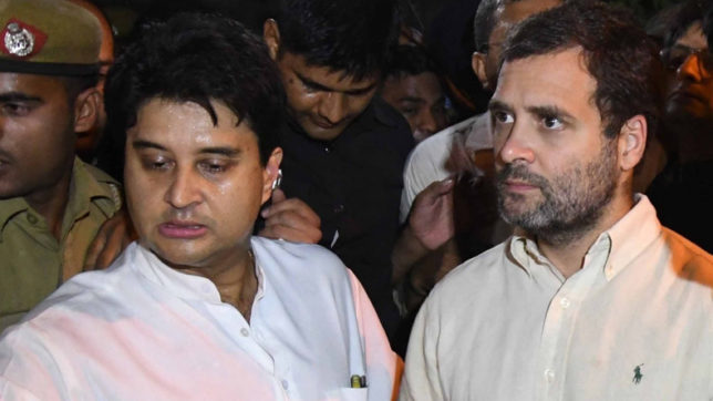 Rahul Gandhi will be face of opposition in 2019 election: Jyotiraditya Scinda