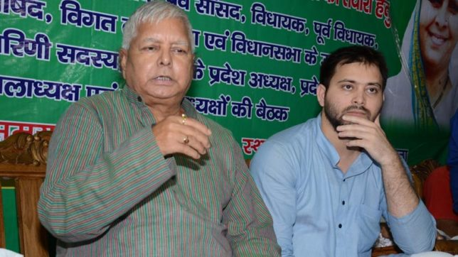PM Modi, Amit Shah to blame for CBI raids: Lalu Prasad